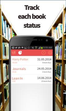 Reading Helper - Manage Books screenshot 4