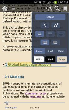 Gitden Reader: EPUB3 & EPUB2 apk screenshot