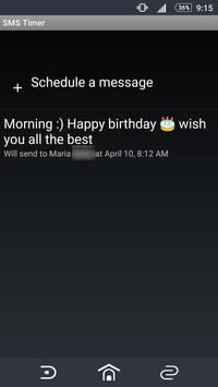 SMS Timer screenshot 3