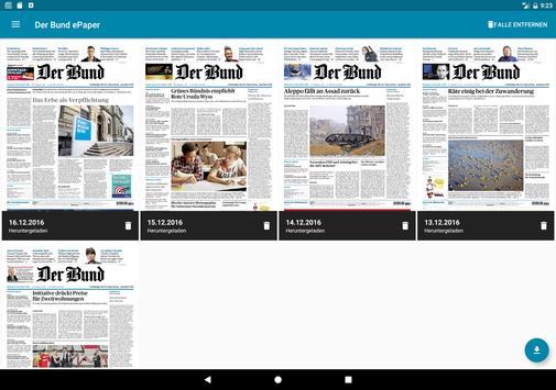 Der Bund ePaper apk screenshot