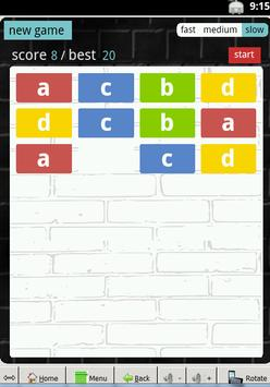 row arrange : puzzle game screenshot 2