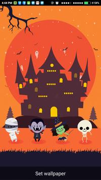 Helloween Live Wallpaper apk screenshot