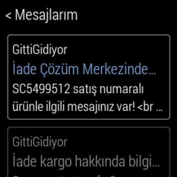 GittiGidiyor apk screenshot