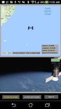 ISS Live Video apk screenshot