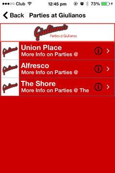 Giulianos apk screenshot