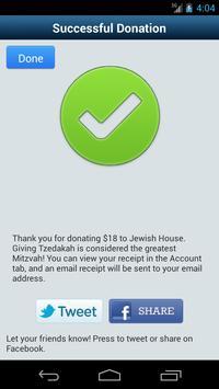 Tzedakah - donate to charity screenshot 3