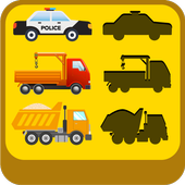 Cars Puzzle for Kids icon