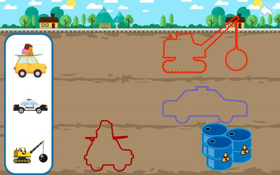 Cars Puzzle for Kids screenshot 1