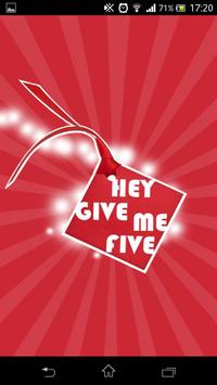 Hey Give Me Five poster