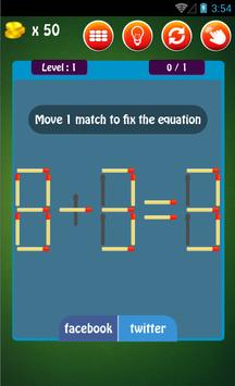 Matches Puzzle Free apk screenshot