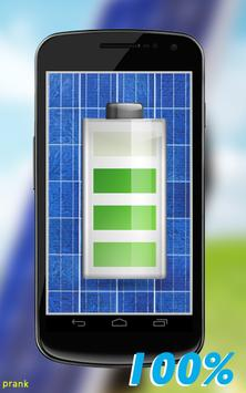 Solar Battery Charger Prank apk screenshot