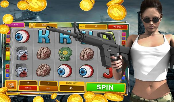 Zombie Slots - Undead Attack screenshot 1