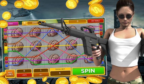 Zombie Slots - Undead Attack screenshot 6