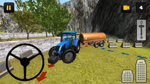 Tractor Slurry Transport 3D poster