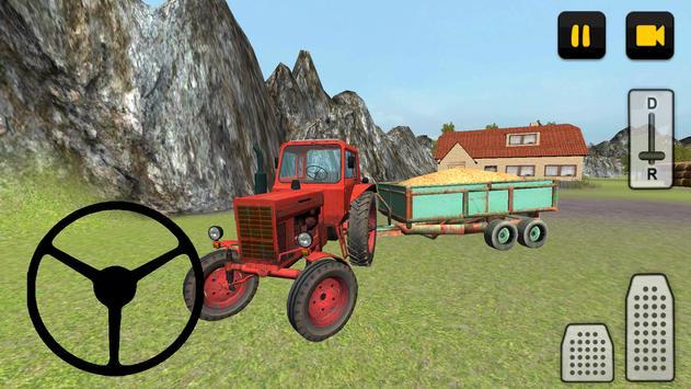 Classic Tractor 3D: Corn screenshot 11