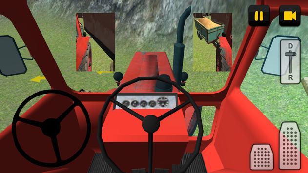 Classic Tractor 3D: Corn screenshot 4
