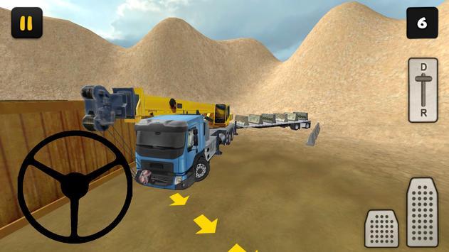 Crane Driving Simulator 3D poster