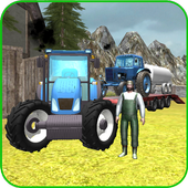 Farming 3D: Tractor Transport icon