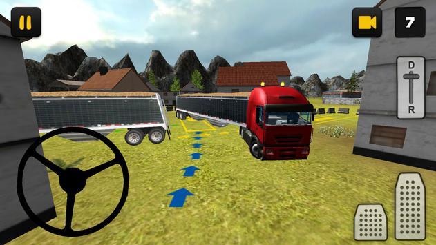 Farm Truck 3D: Wheat 2 poster