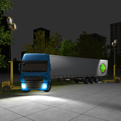 Night Truck Parking 3D icon