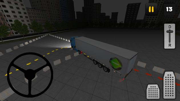 Night Truck Parking 3D apk screenshot