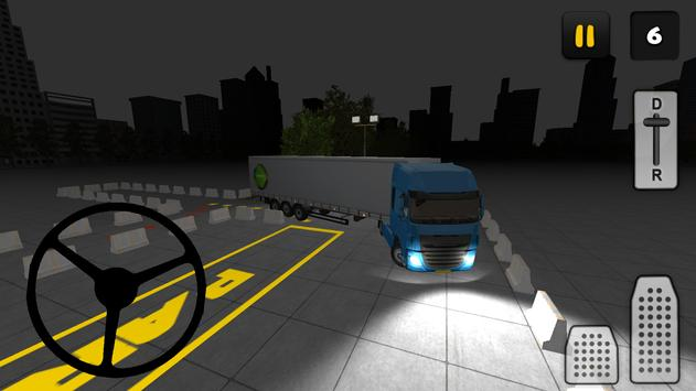Night Truck Parking 3D apk screenshot