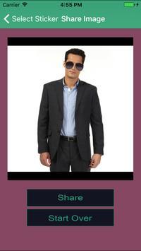 Men Sunglasses Photo Stickers Editor for Makeover screenshot 1