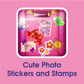 New HD Cute Picture Stickers App & Stamp For Edit icon