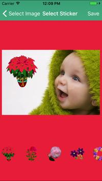 Beautiful Colourful Flowers HD Stickers Collection screenshot 2