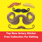 Top New Aviary Sticker Collection For Editing icon