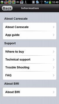 carescale BT apk screenshot