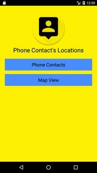 Phone Contact Location screenshot 1