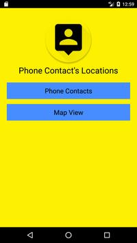 Save Location Of Phone or Phone Book Contact screenshot 1