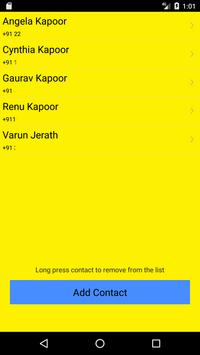 Phone Contact Location screenshot 3