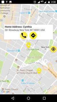 Save Location Of Phone or Phone Book Contact screenshot 6