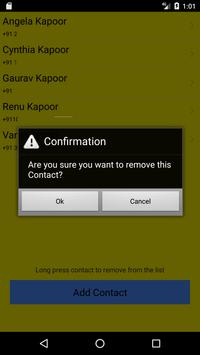 Save Location Of Phone or Phone Book Contact screenshot 7
