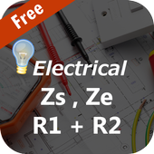 R1+R2 Zs and Ze Calculator - Electrical R1+R2 Zs icon