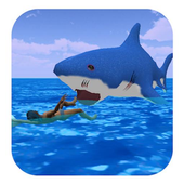Shark Attack Games At The Beach icon
