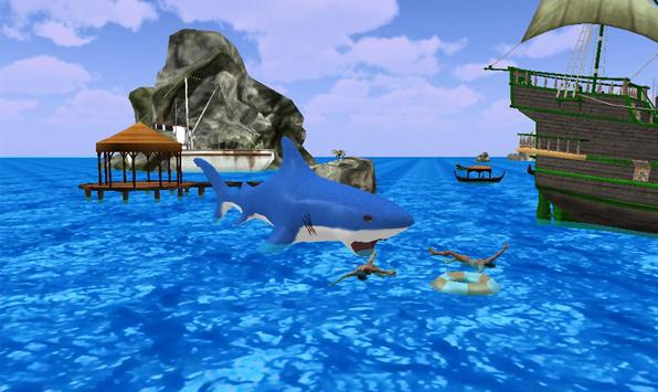 Shark Attack Games At The Beach poster