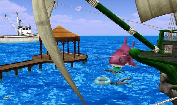 Shark Attack Games At The Beach apk screenshot