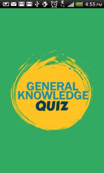 General Knowledge Quiz poster