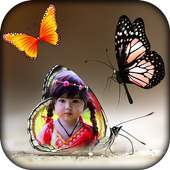 Colorful Butterfly Photo Frames icon