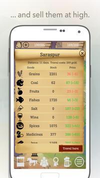 Pocket Trader. Business Tycoon. Ancient Trading. تصوير الشاشة 2