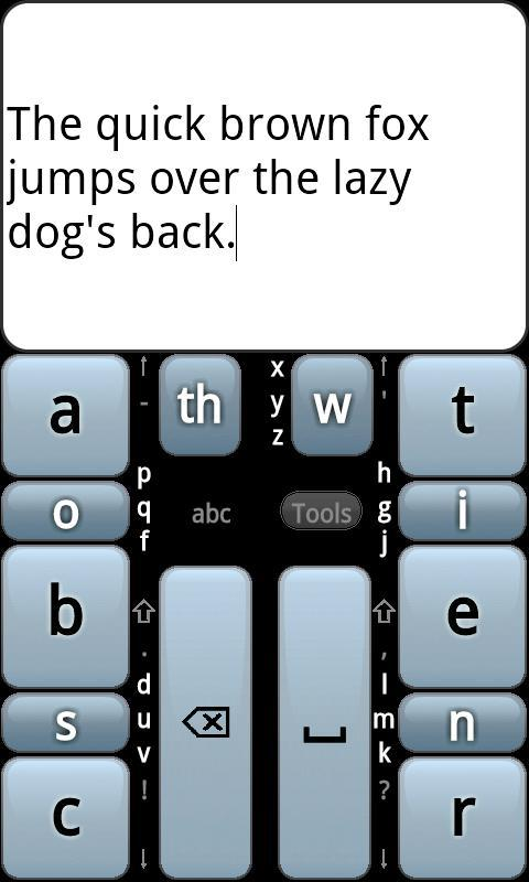 Chorded Keyboard - GKOS for Android - APK Download