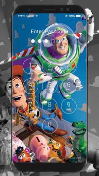 Toy Story HD Wallpapers Lock Screen screenshot 1