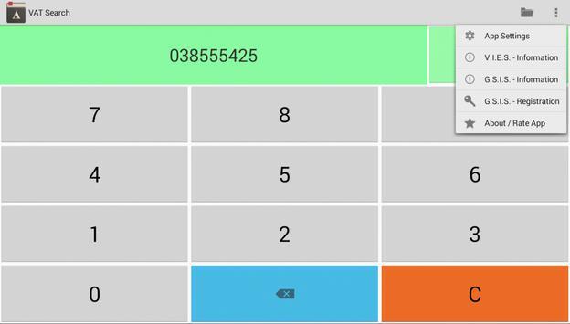 VAT Number Search apk screenshot