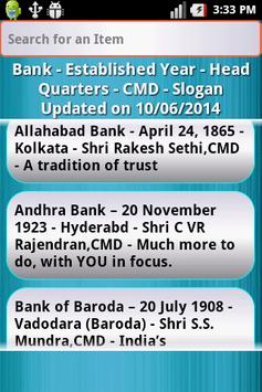 Banking Awareness screenshot 3