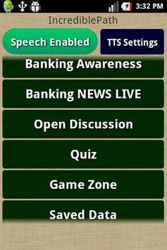 Banking Awareness poster