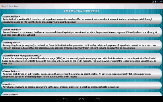 Banking Awareness screenshot 10