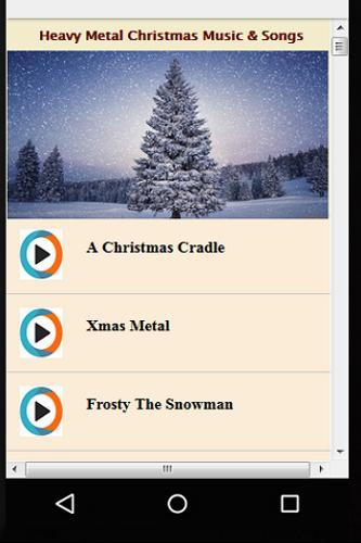 heavy metal christmas music songs apk apkpurecom - Metal Christmas Songs